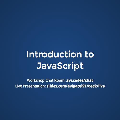 Introduction to JavaScript Slideshow by Coding Temple | www.meetup.com/Coding-Temple/events/224765766/