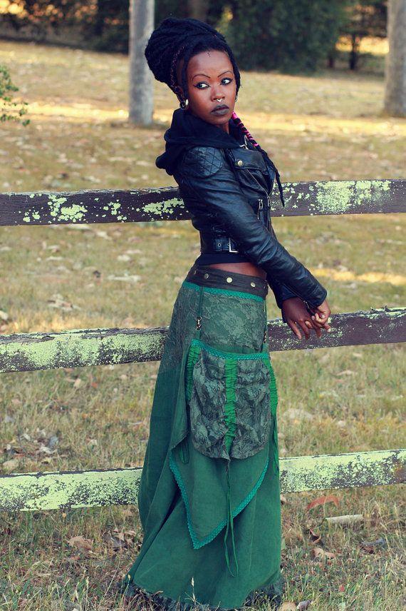Fairy Maxi Length Corduroy Flared Skirt with by manakahandmade, £60.00