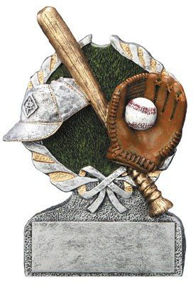 Centurion Resin Baseball Trophy