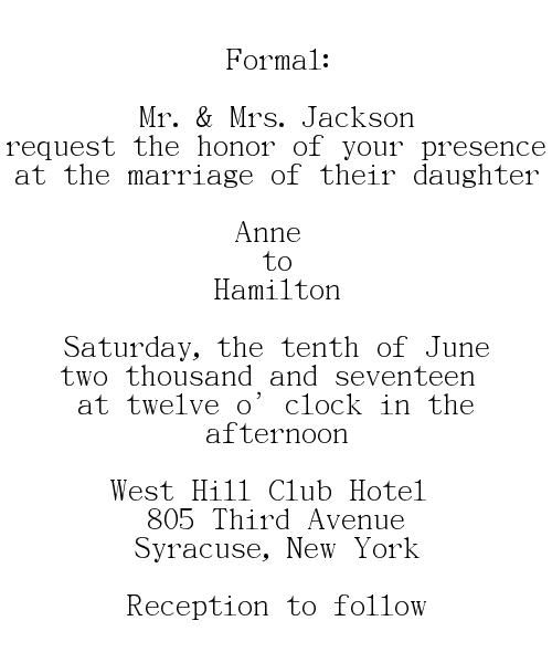 Best 25+ Formal wedding invitation wording ideas on Pinterest - formal invitation