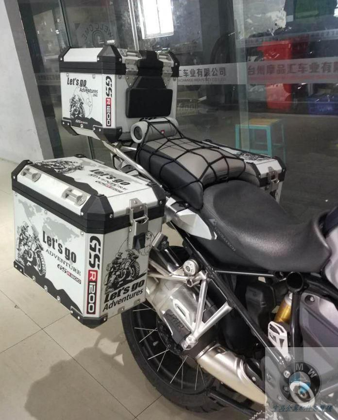 MOTORBIKE LUGGAGE STICKER TOP BOX GIVI TOURING
