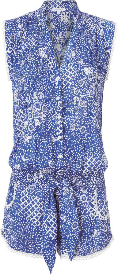 8ddfec7853 Poupette St Barth Elodie Short Romper. Pair with sneakers or sandals.  ad   welcome summer