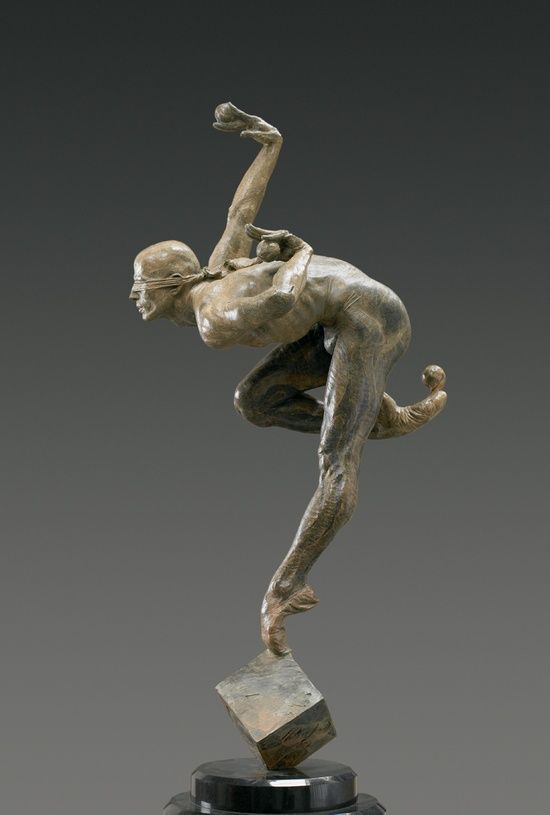 Blind Faith, Half Life, Bronze, Richard Macdonald