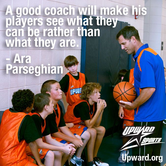 A good coach will make his players see what they can be rather than what they are. - Ara Parseghian #kids #sports #quote