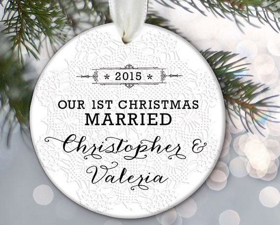 The 25 best First christmas married ideas on Pinterest