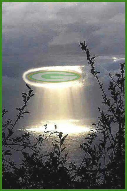 Green Bay Packers - A Light from above.