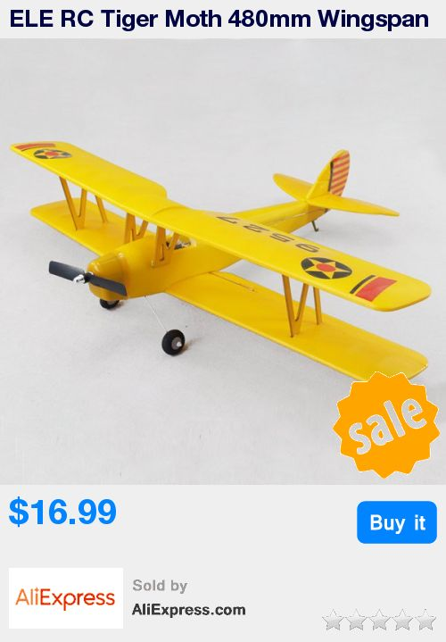 ELE RC Tiger Moth 480mm Wingspan EPO Biplane RC Airplane KIT * Pub Date: 16:43 Apr 26 2017