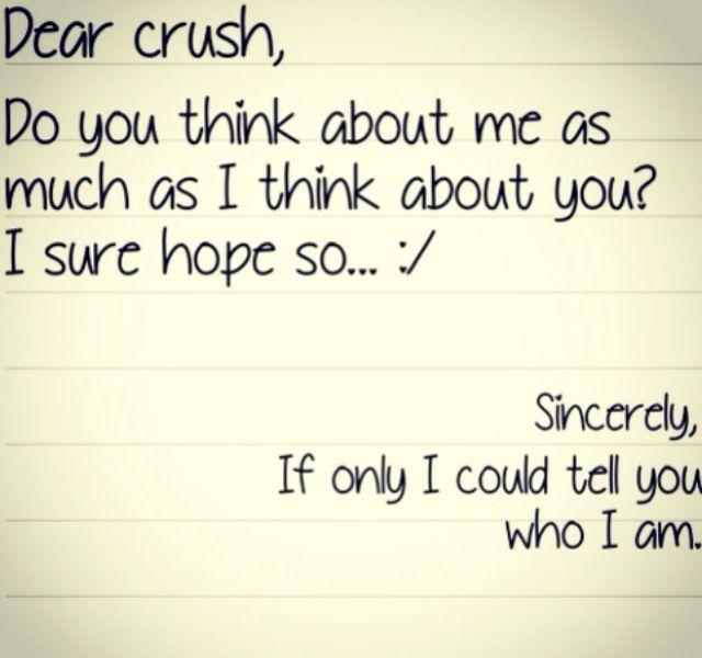 Dear crush   Quotes