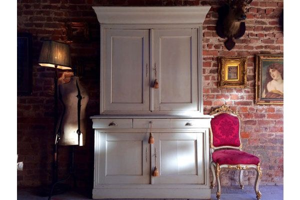 Magnificent French #Antique Buffet Cabinet Cupboard Dresser 19th Century Painted | Vinterior London  #vintage #home