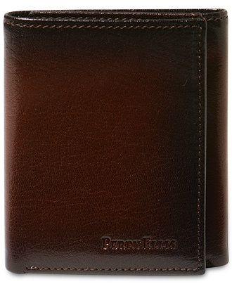 Perry Ellis Michigan Slim Ombre Trifold Wallet - Accessories & Wallets - Men - Macy's
