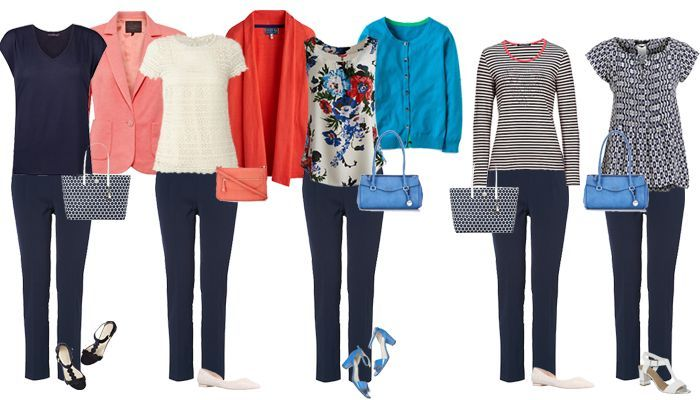 How to create outfits from the pieces in your wardrobe!