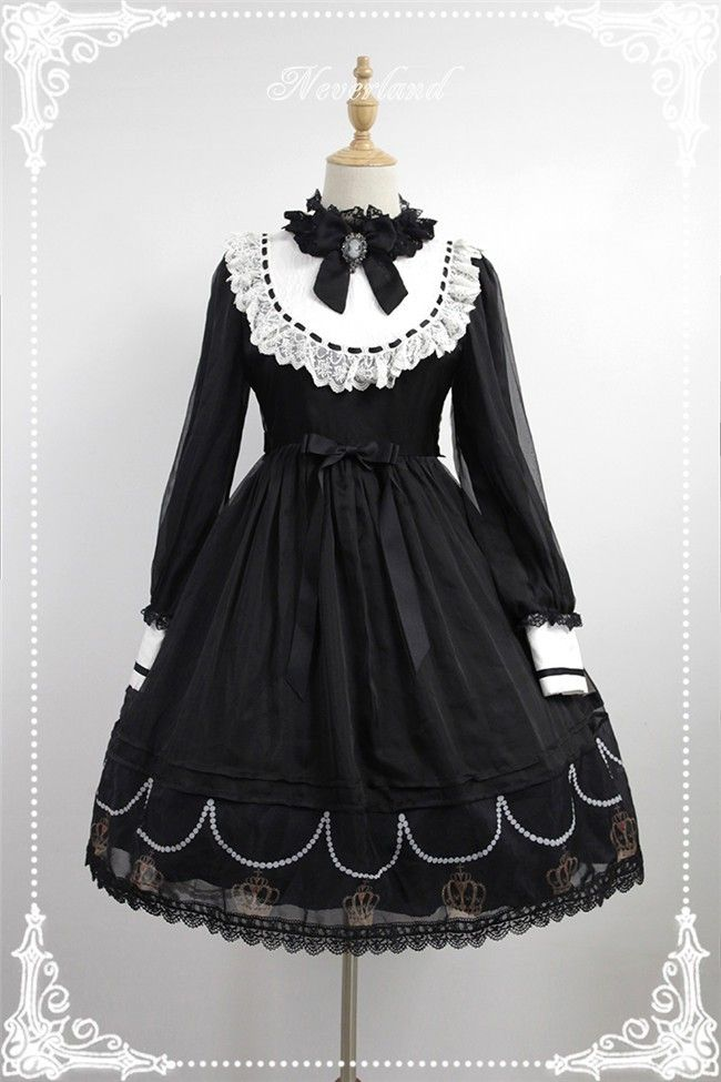#LolitaUpdate: [-✙♥✙-Black Requiem-✙♥✙-] Lolita OP Dress
