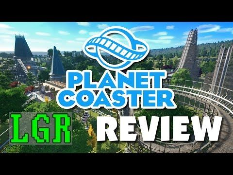 Planet Coaster  אולי, מהממם ומושלם אבל המשחק עצמו קל מידי, לבנות דברים יפיפים ממש בקלות  LGR - Planet Coaster Review - YouTube