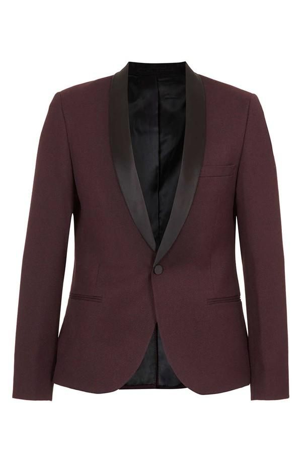 sharp blazer with a slender collar | Topman