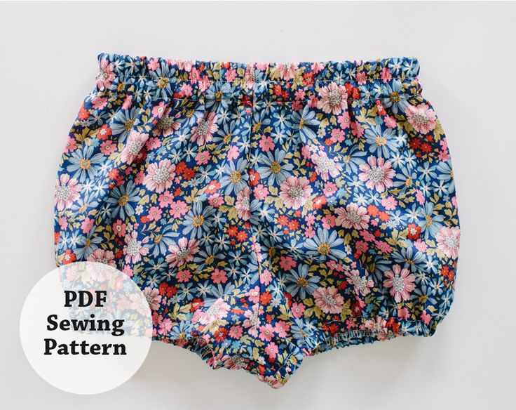 Baby Bloomers (PDF Sewing Pattern) Girls Apparel by whitneydeal on Etsy https://www.etsy.com/nz/listing/223758953/baby-bloomers-pdf-sewing-pattern-girls