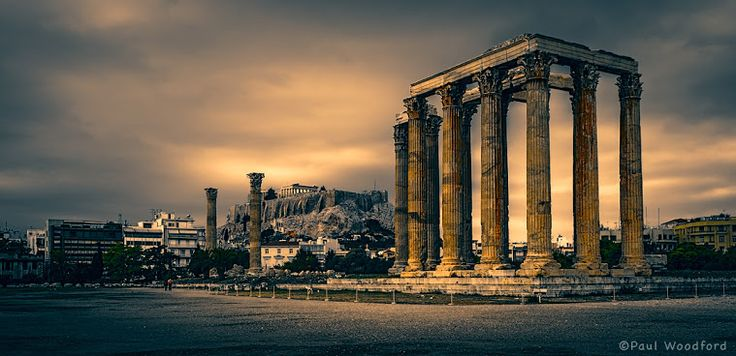 Photo Mania Greece: Temple of Olympian Zeus in Athens Greece
