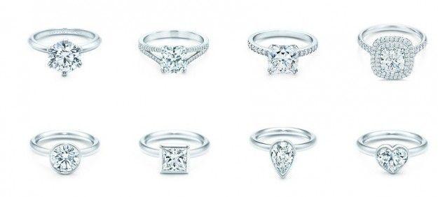 Tiffany & Co. anelli di fidanzamento
