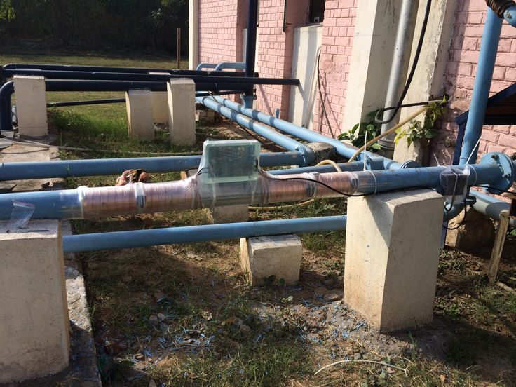Anti-scale system contains programmed micro-processor to controls the unit to create electronic impulses inside the pipe by the bands wrap on the pipe. These bands create impulses inside the pipe which changes the shape of calcium crystals in the water. No chemicalsNo saltNo maintenance