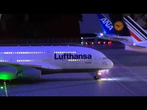 Miniaturwunderland Hamburg Flughafen in Full HD 1080p Teil 1/3  Miniature Wonderland Airport