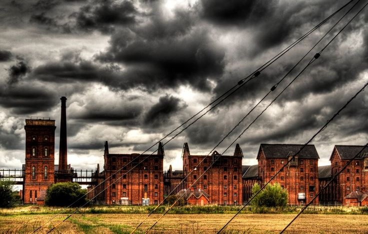Maybe not a place to visit, but fantastic picture of Sleaford abandoned Maltings By Push Creativity