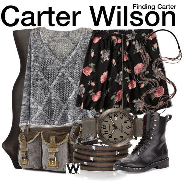 Inspired by Kathryn Prescott as Carter Wilson on Finding Carter.