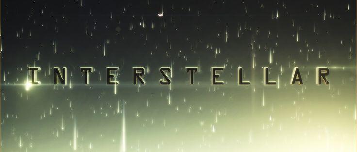 Interstellar Logo.  Watch it on : https://www.youtube.com/watch?v=jHBw6nn9lik