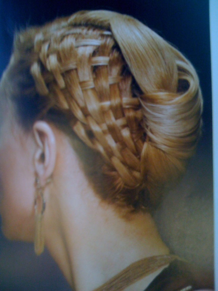 "Davis Biton ""Great Hair"" book, style Basket Weave"