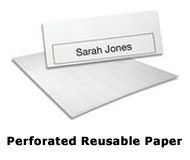 "Reusable Name Badges by Name Badges International Australia are made to be ""re-used. This means that they can endless be used with a different name while keeping the name badge. At the time of the first order of re usable name badges, we provide with a free insert for your convenience."