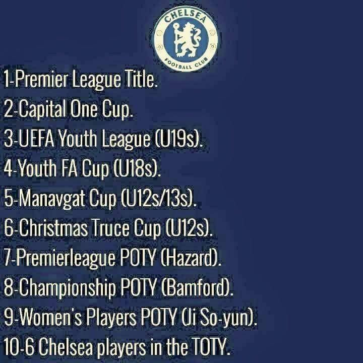 what a season at every level .....