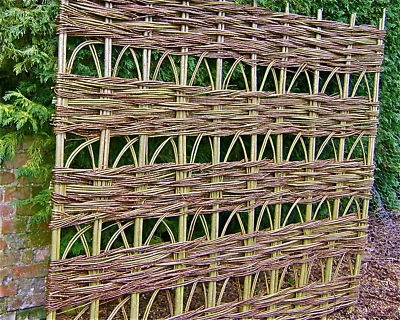 Willow trellis panel