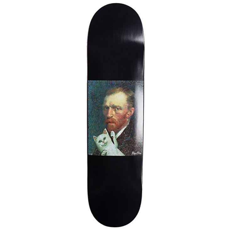 """RIPNDIP Van Nermal Skateboard Deck - Black 8.25"""""""