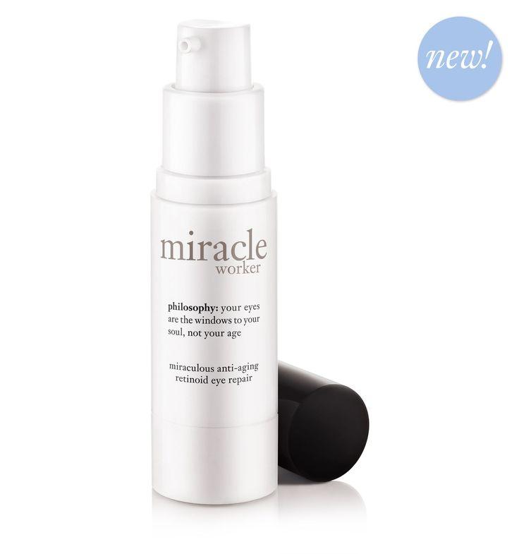 Best eye cream on the market! 100% of guest saw under eye bags gone in 1 week, dark circles 2 weeks , fine lines and wrinkles 4 weeks... AMAZING sold at ULTA