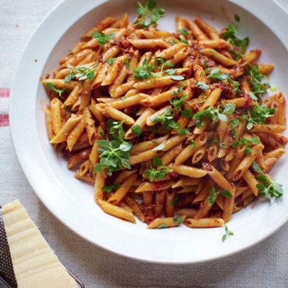 Jools Oliver's pregnant pasta recipe. For the full recipe, click the picture or visit RedOnline.co.uk