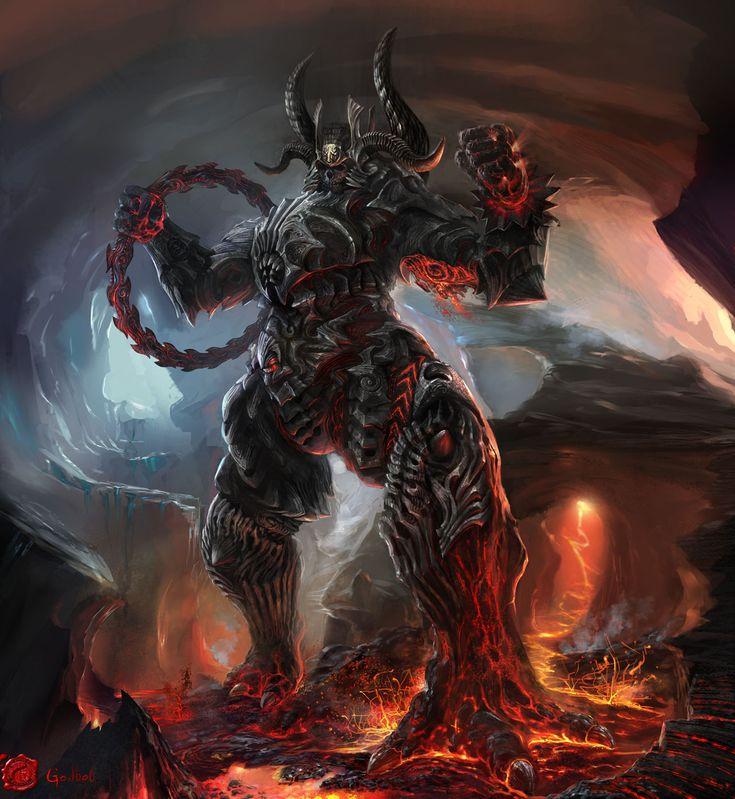 demon artwork Wallpaper