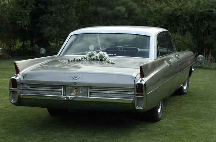 Cadillac DeVille 1963 for wedding