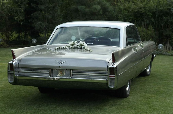 Cadillac DeVille 1963 for wedding