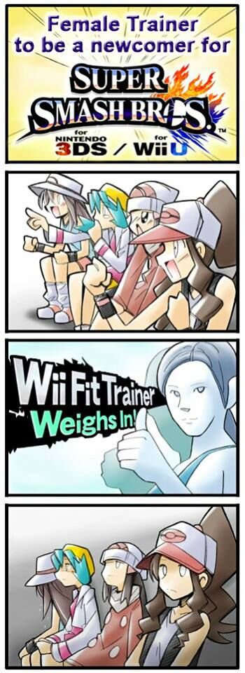 The Wii Fit Trainer probably isnt what people had in mind when they heard Female Trainer. --- VISIT http://dromelabs.com