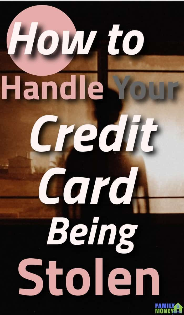 How to handle your credit card being