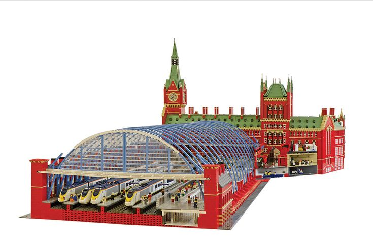 lego http://now-here-this.timeout.com/wp-content/uploads/2013/05/LEGO-st-pancras.jpg