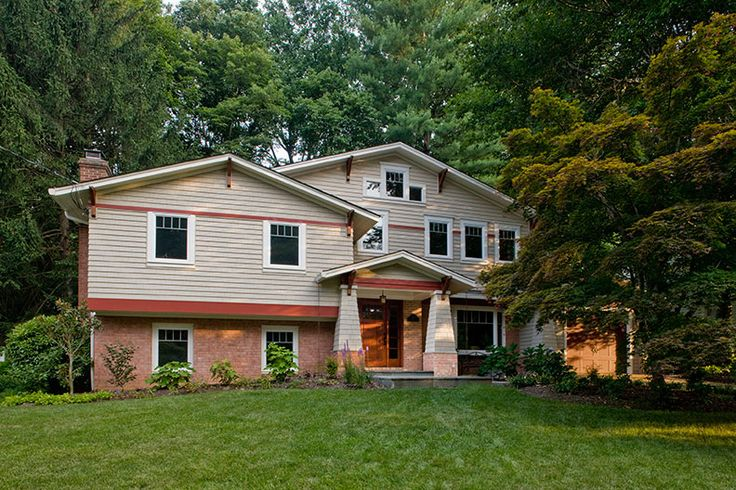 108 best exteriors tri levels images on pinterest for Split level modular homes