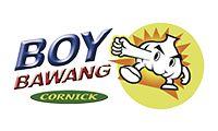 #Boy #Bawang-maïskorrels met knoflooksmaak