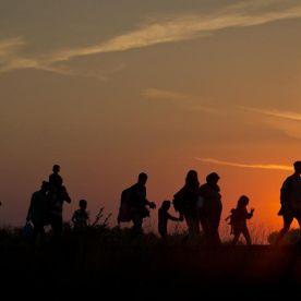 El drama de los inmigrantes y otras fotos impactantes de la semana