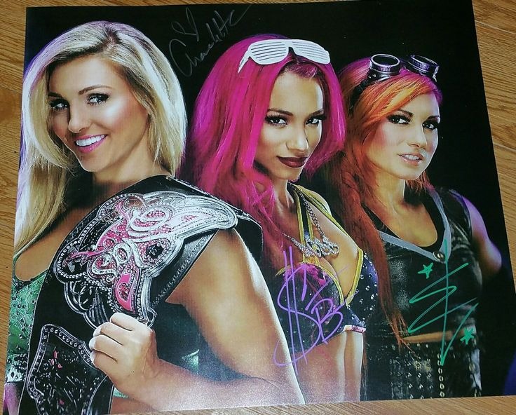 SASHA BANKS, BECKY LYNCH, CHARLOTTE signed poster, wwe, total divas, wcw - http://bestsellerlist.co.uk/sasha-banks-becky-lynch-charlotte-signed-poster-wwe-total-divas-wcw/