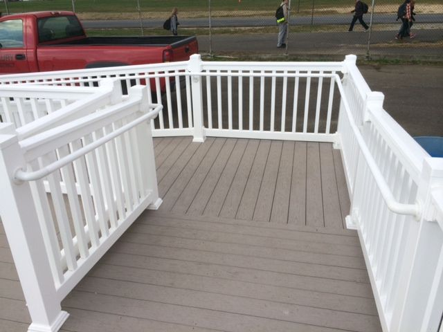 8 best Secondary handrail! images on Pinterest | Deck balusters ...