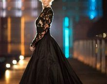 designers ideas black wedding dresses 2017