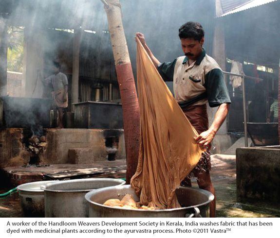 HerbalGram: Ayurvastra: Dyeing Fabric with Medicinal Ayurvedic Plants