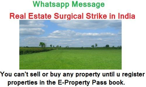Real Estate Surgical Strike in India - Your property is no longer yours... read to know more...