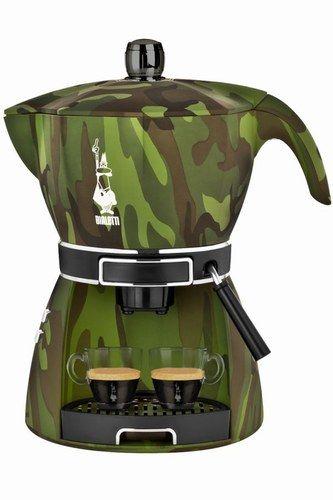 Macchine per fare il caffè | Mokissima Camouflage si caratterizza per una fantasia trendy | idee per la casa