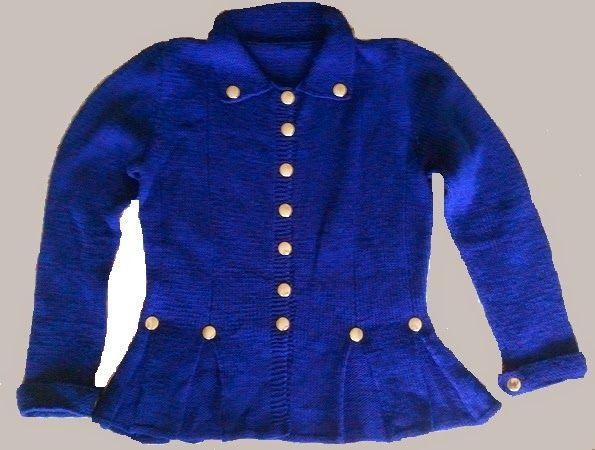 hobby e passioni racchiusi nel mio cassetto: Giacca di lana modello Ussaro - Wool jacket model ...