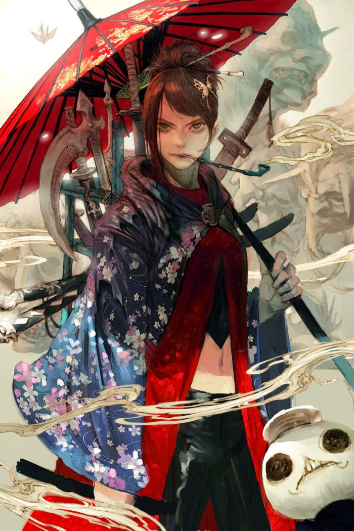 samurai, Kyoung Hwan Kim on ArtStation at https://www.artstation.com/artwork/Gd24V?utm_campaign=notify&utm_medium=email&utm_source=notifications_mailer